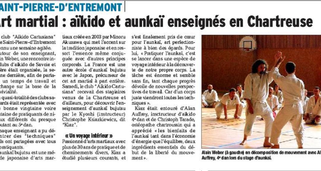 Aunkai: retour sur le stage dans la Chartreuse.